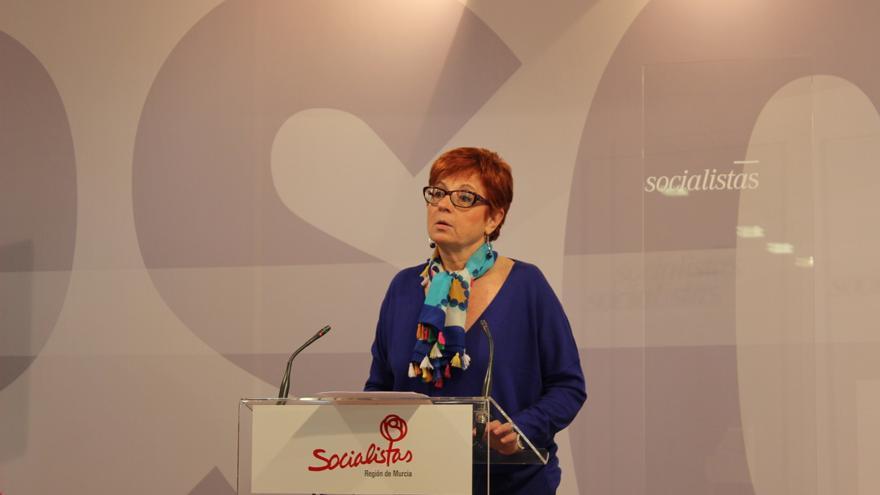 La diputada socialista Begoña García Retegui / PSS
