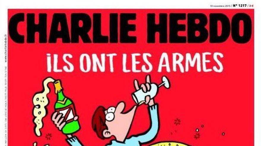 La portada de Charlie Hebdo tras los atentados de París.