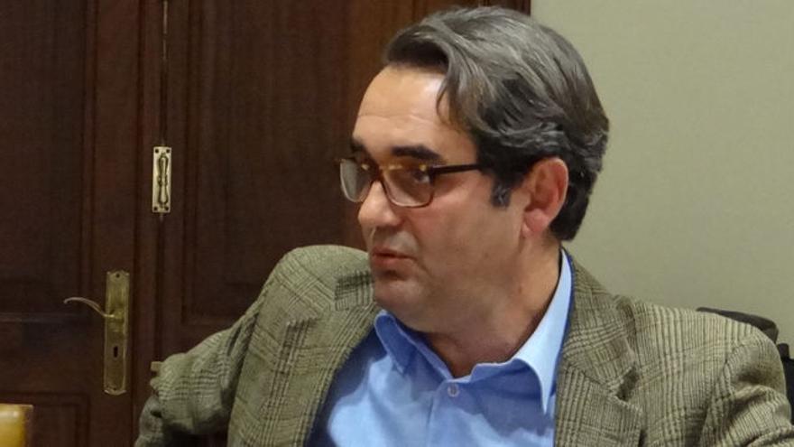 Pedro Fernández Arcila, candiadto de Sí se puede en Santa Cruz de Tenerife.