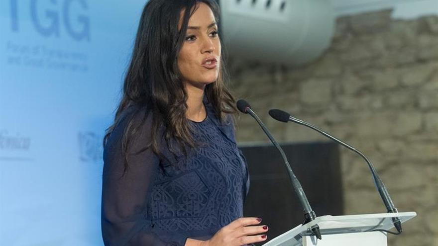 Begoña Villacís cree que España y Europa saldrán fortalecidas si gana Macron
