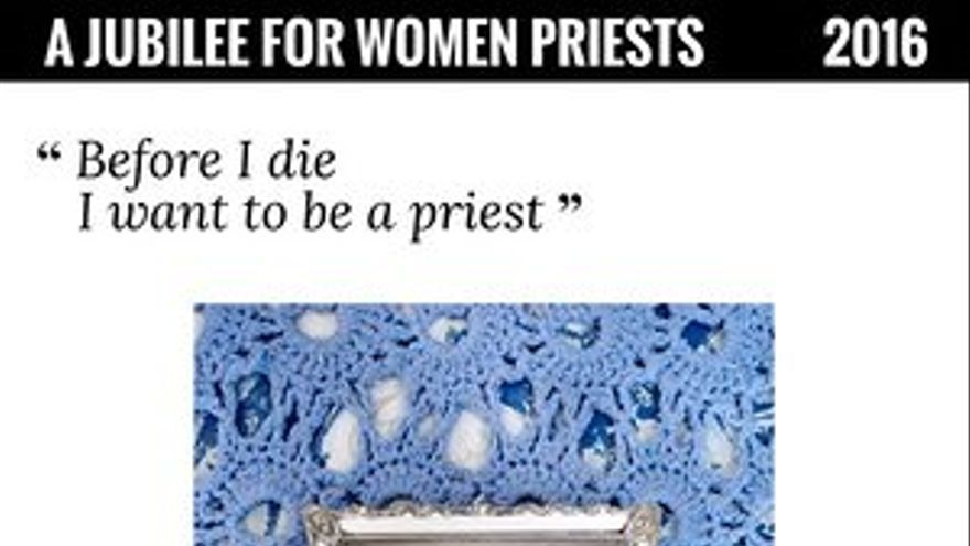 Algunas de las imágenes de la campaña por la ordenación de mujeres sacerdote.