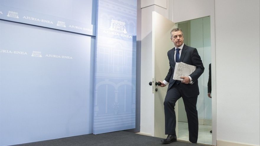"""Urkullu espera que ETA anuncie su desarme antes de """"seis meses"""" y que no se use este tema """"electoralmente"""""""