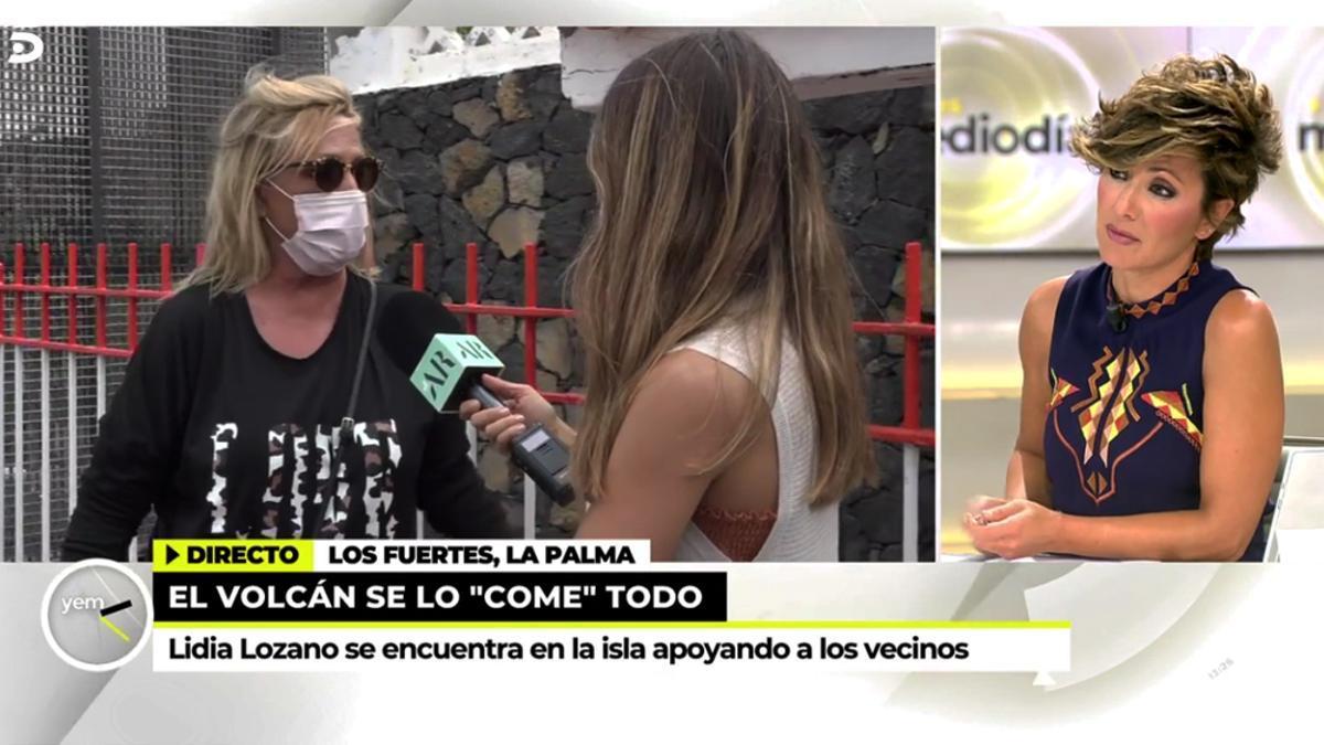 Lydia Lozano atiende a 'Ya es mediodía'
