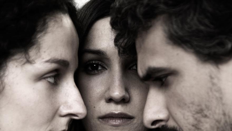 Cartel del obra 'La mirada del otro'