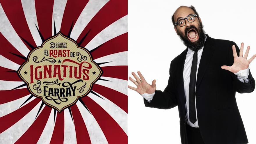 Ignatius Farray, protagonista del cuarto 'Roast' de Comedy Central