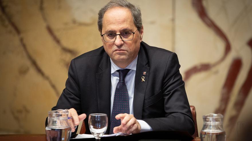 Torra celebra la entrada de Puigdemont en la Eurocámara y pide que se retiren las euroórdenes