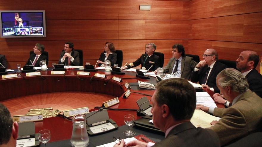 Fernández Díaz preside el Comité de Situación del Consejo de Seguridad Nacional en el marco de un simulacro químico