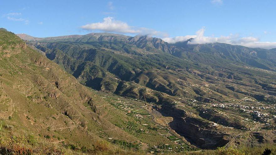Barrancos de Güímar, Tenerife. (Wiki)