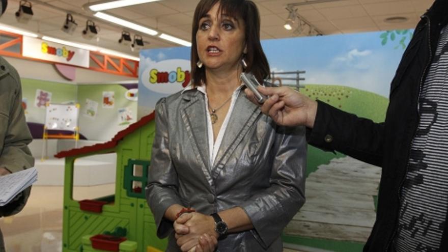 Mayte Parra, la alcaldesa de Ibi, tras la destitución del concejal Onsurbe.