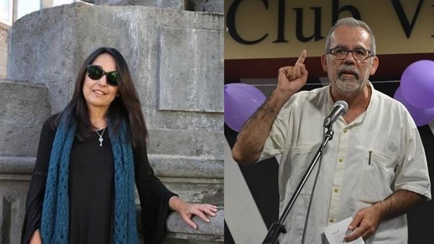 Los candidatos de Unidos Podemos al Senado por Gran Canaria