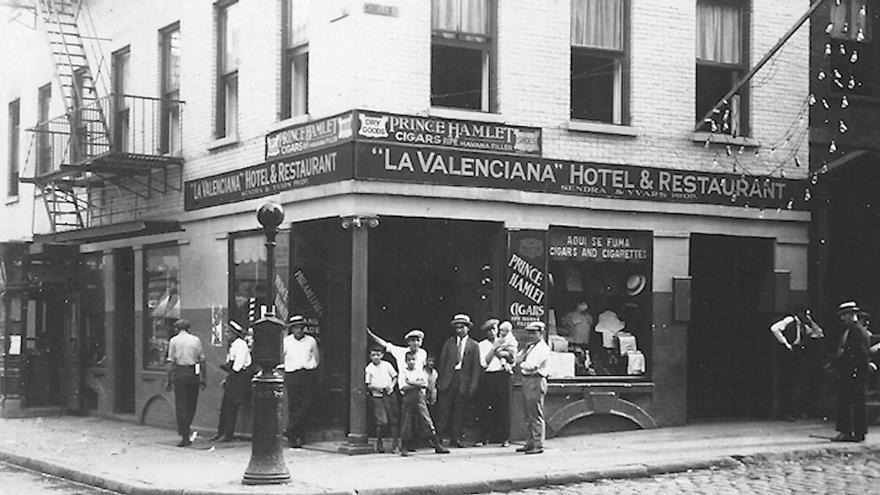 Una de las imágenes que se pueden ver en el documental 'Els valencians d'Amèrica'