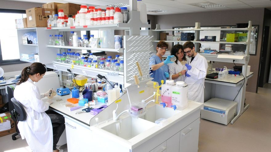 Investigadores del Instituto de Biomedicina y Biotecnología de Cantabria. | J.M. DEL CAMPO
