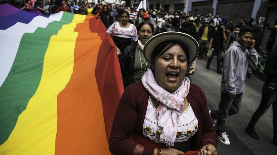 Levantamiento indígena y represión estatal en Ecuador, (c) Jonathan Rosas