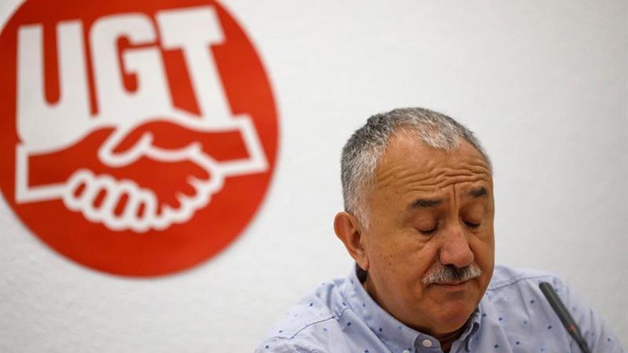 UGT urge a pactar un Gobierno que saque los Presupuestos y anule la reforma laboral