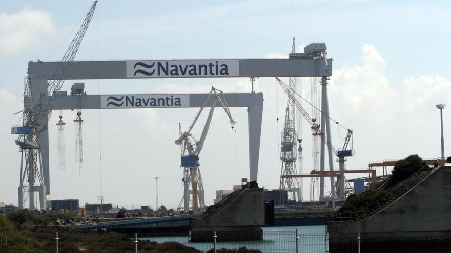 """Sanz dice que """"estamos en la fase final"""" para la firma del contrato de Navantia para cincos corbetas para Arabia"""