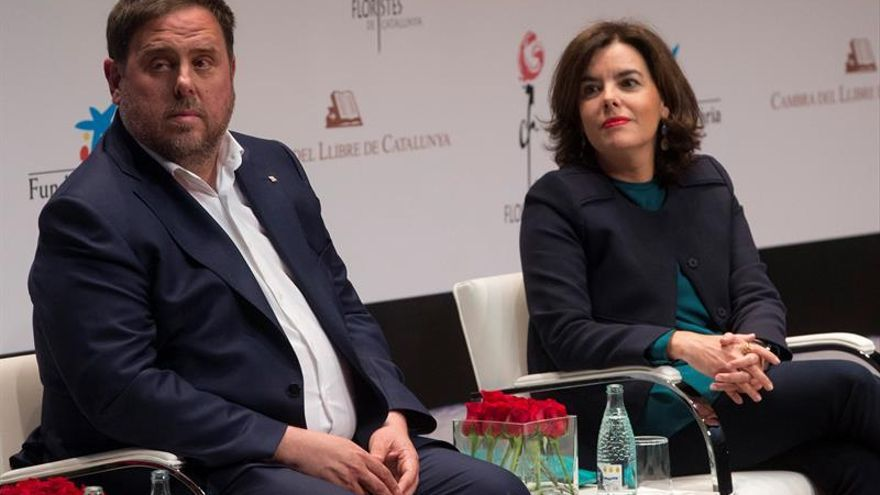 Junqueras dice que la relación con Santamaría es buena pero infructuosa