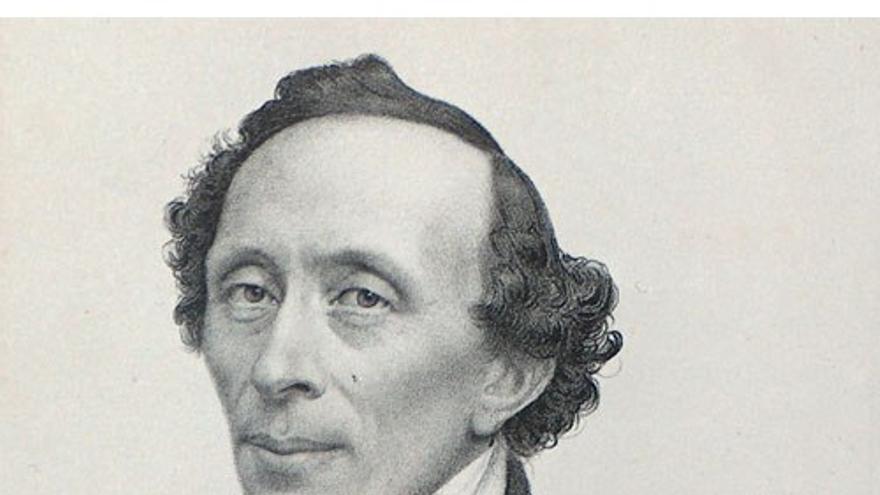 Retrato de Hans Christian Andersen. (DP).