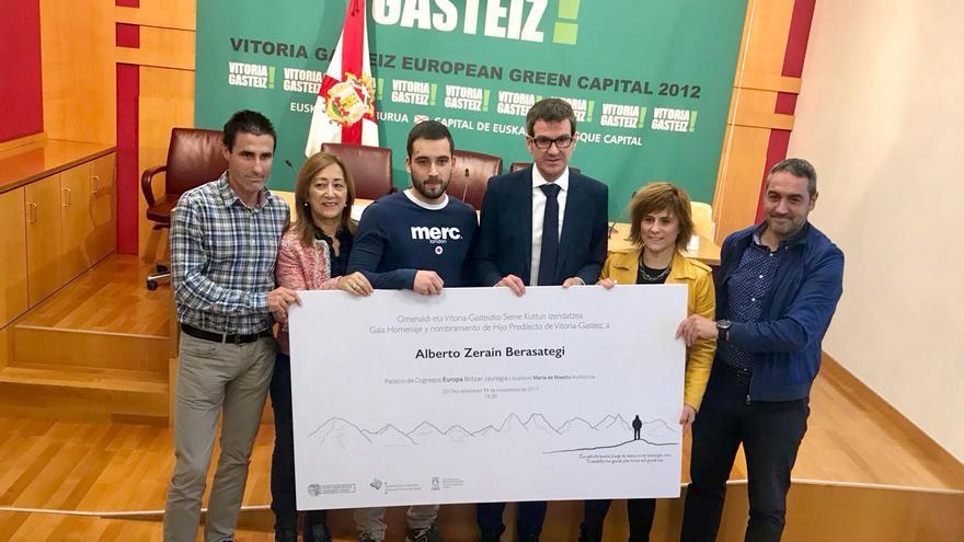 Homenaje Alberto Zerain.