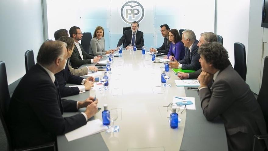 El PP abre la elección de los 3.128 compromisarios de su XVIII Congreso y proclama a Rajoy único candidato