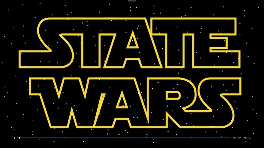 Un video de ERC convierte a Aznar en Darth Vader, Rajoy en Emperador y Pujol en Yoda