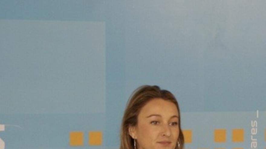 Andrea Fabra (arriba, EUROPA PRESS), y el vídeo de la polémica.