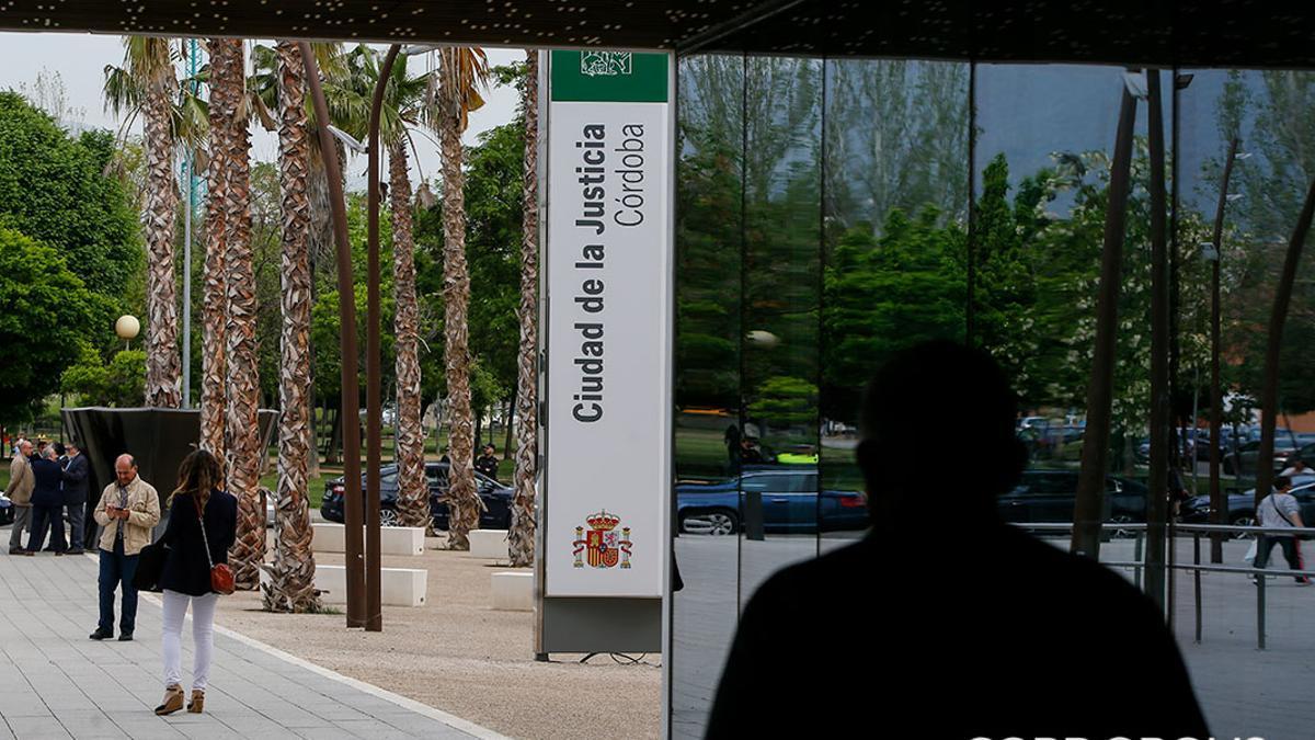 Entrada de la Ciudad de la Justicia de Córdoba