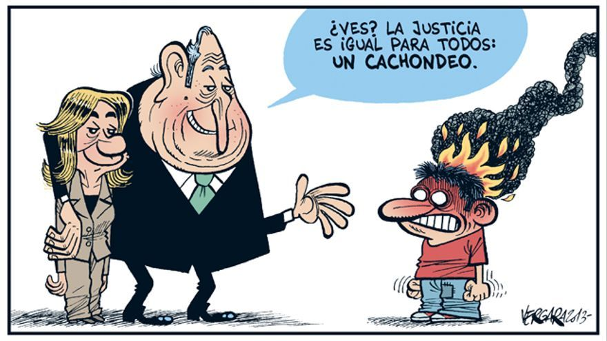 La justicia es igual para todos