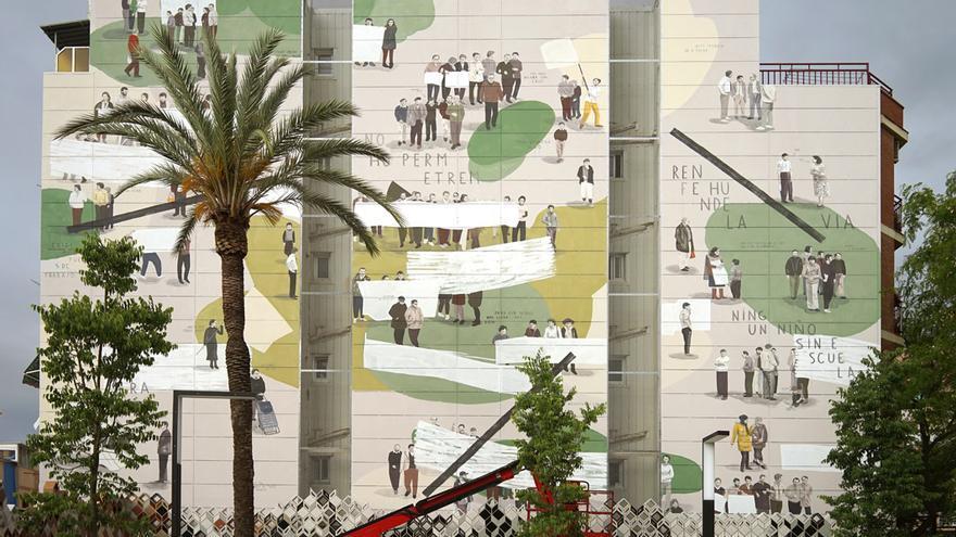 LA PLAZA ES NUESTRA / Plaza de la Salud, Sant Feliu de Llobregat