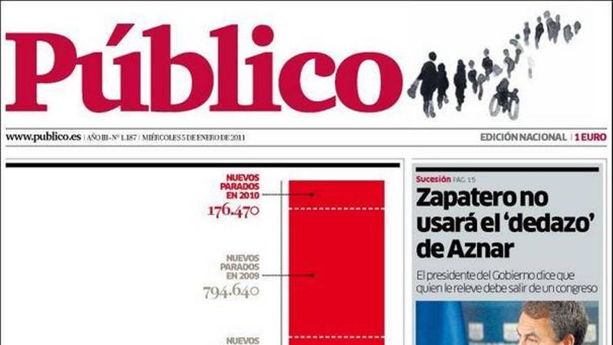 De las portadas del día (05/01/2011) #11