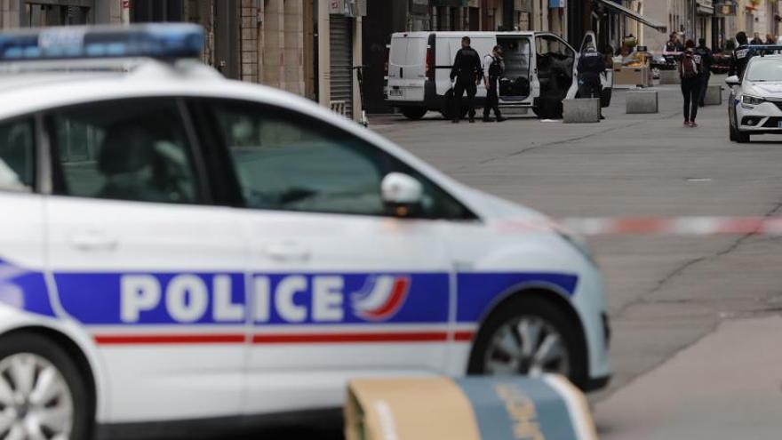 Imagen de archivo de un coche de la Policía de Francia.