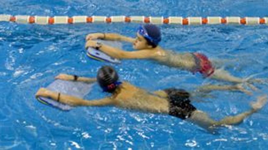 Usuarios de las piscinas municipales / Foto: Ayuntamiento de Donostia