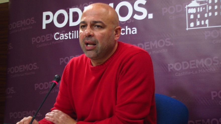 José García Molina, secretario regional de Podemos Castilla-La Mancha