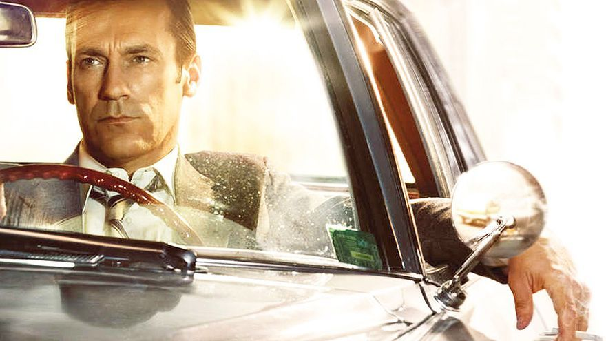 Jon Hamm, en la última temporada de 'Mad Men'