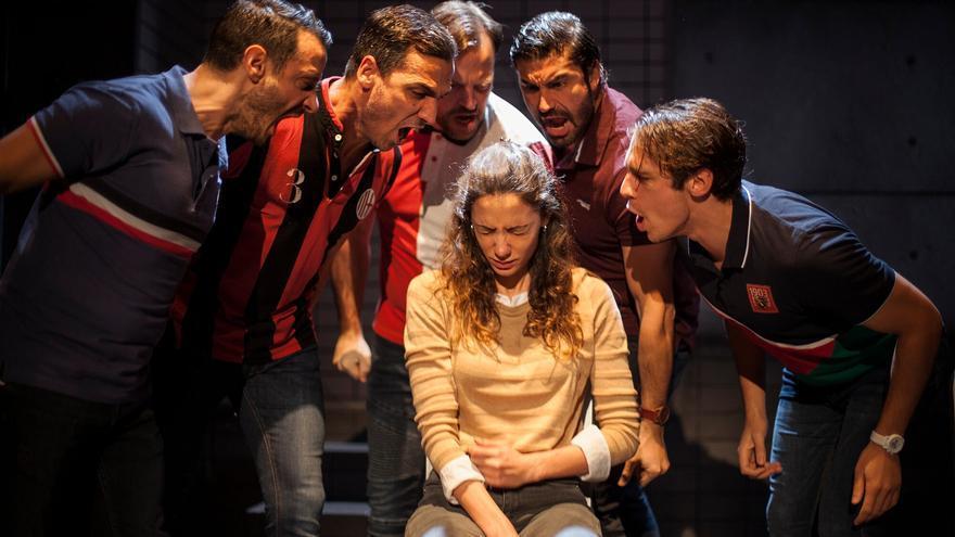 Una escena de la obra teatral 'Jauría'