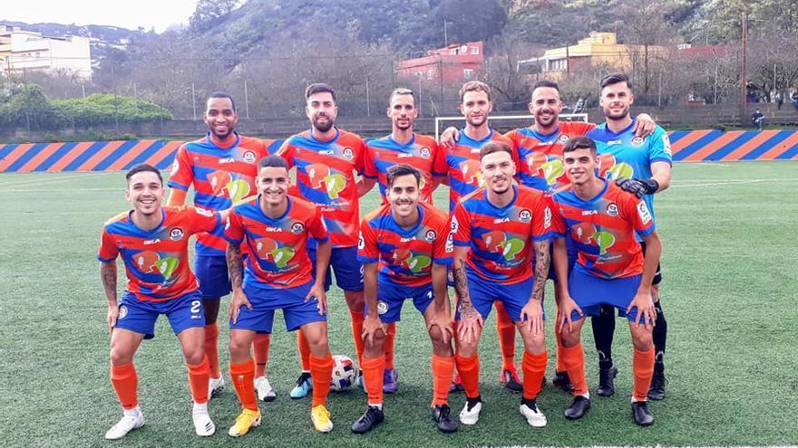El San Mateo y Las Palmas C se acercan al San Fernando antes de la paralización del subgrupo de Las Palmas
