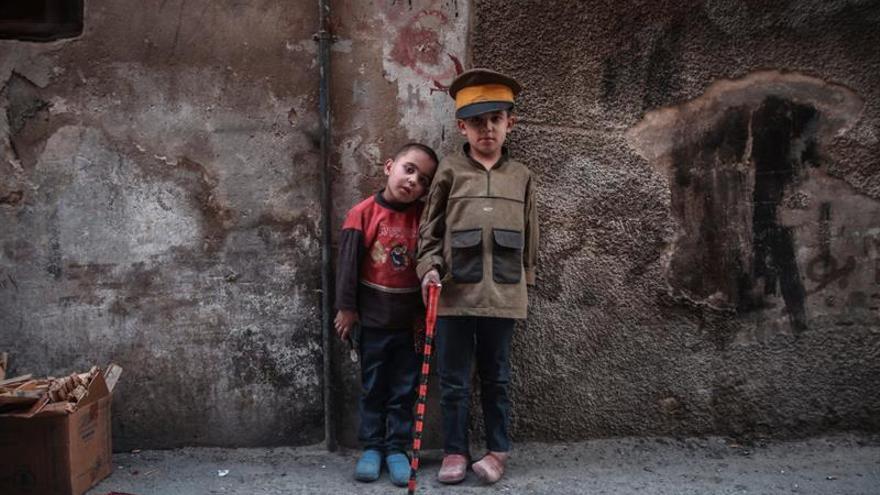 Unicef pide ayuda para salvar una generación de niños de la guerra y refugiados