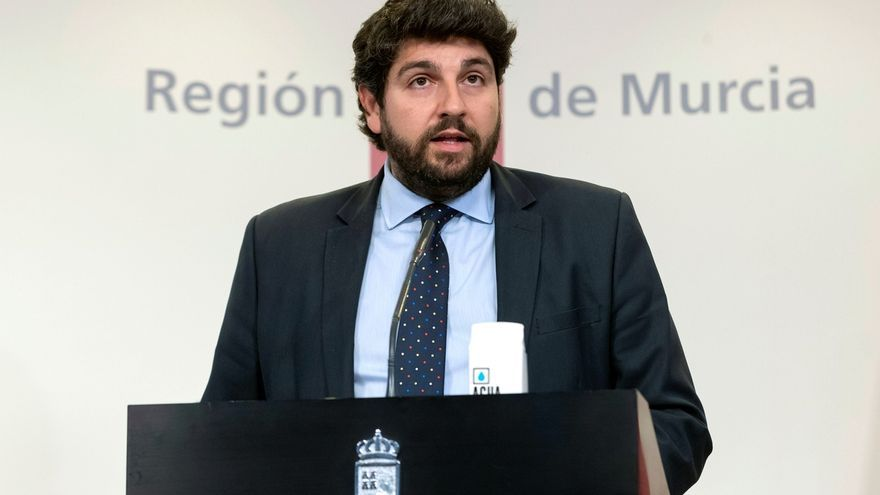 El presidente de la Región de Murcia, Fernando López Miras.