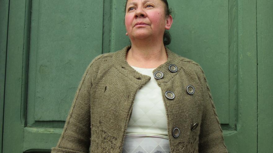 María Esperanza Ramírez sigue luchando por los derechos humanos. Foto: LUZ RODRÍGUEZ
