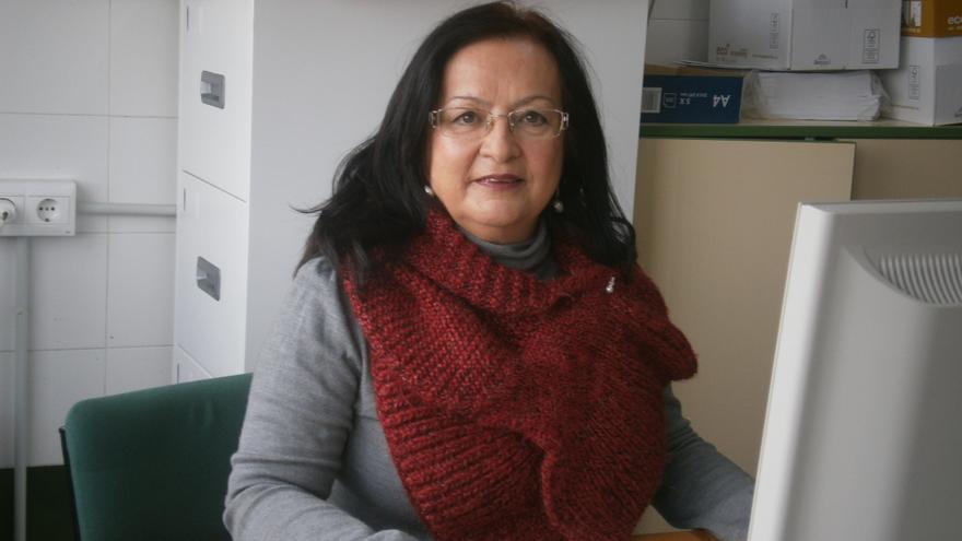 María Auxiliadora González ha conseguido que sus alumnos inmigrantes no se pierdan en las lecciones por el idioma.