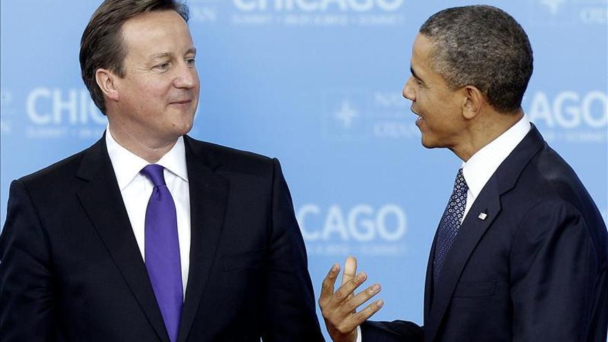 Obama y Cameron analizarán Siria, cumbre del G8, economía y seguridad