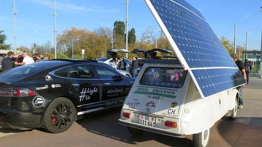 Rally de coches eléctricos recorre 4.200 kilómetros contra el cambio climático