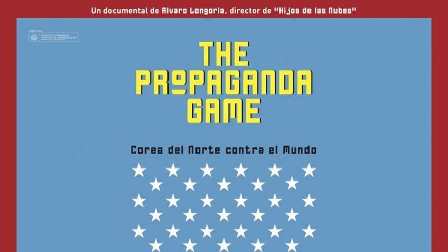 Cartel original del documental 'The propaganda Game'.