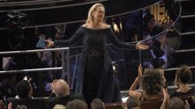 Meryl Streep en los Oscar celebrados en febrero de 2017