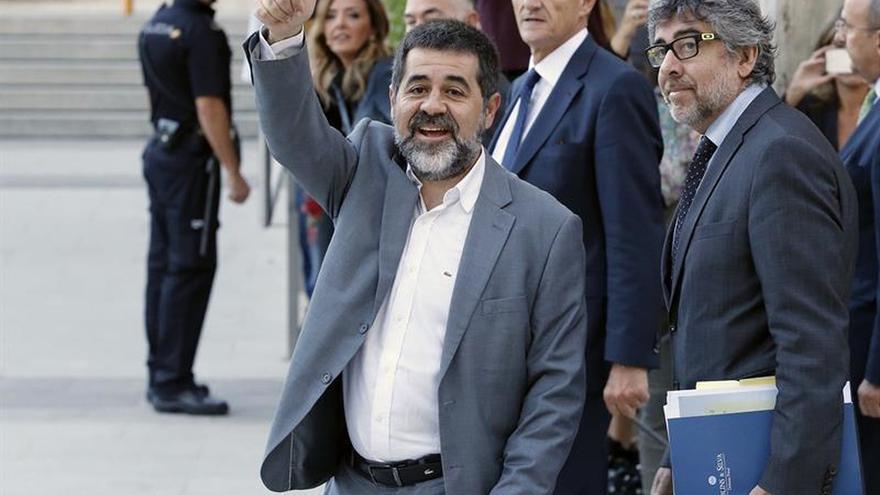 El TS avala que Jordi Sánchez no pudiera salir de prisión para hacer campaña