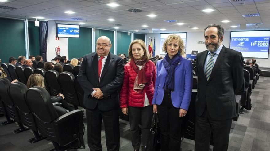 Salvador Blanco (Sodercan) y Rosa Eva Díaz Tezanos