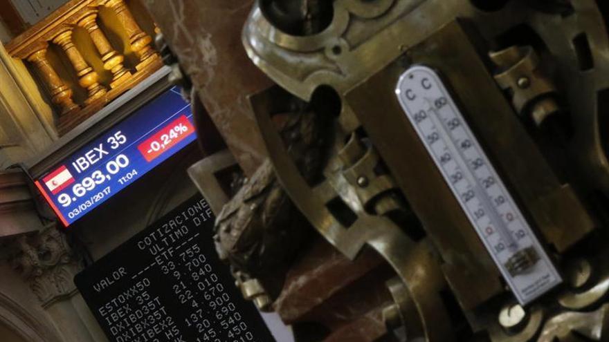 El IBEX sube un 0,80 % y supera los 10.300 puntos respaldado por la banca