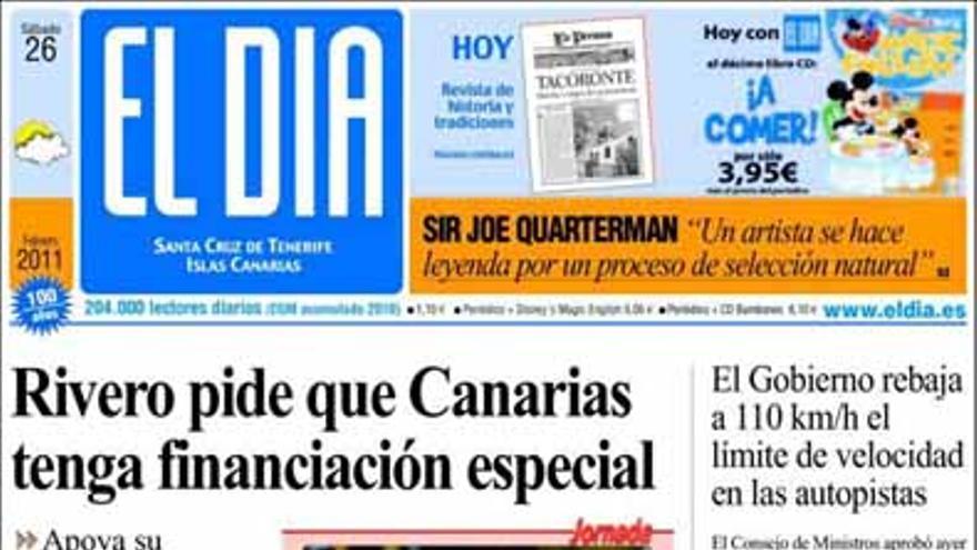 De las portadas del día (26/02/2011) #4