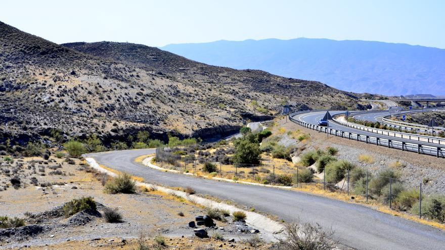 Barranco de Gérgal donde aparecieron los cuerpos de las víctimas del Caso Almería.