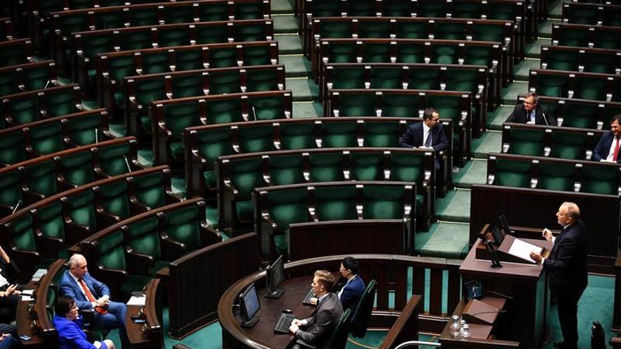 El Parlamento polaco rechaza la moción de censura propuesta por la oposición