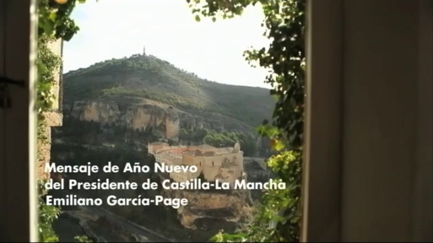 Saludo de año nuevo de Emiliano García-Page